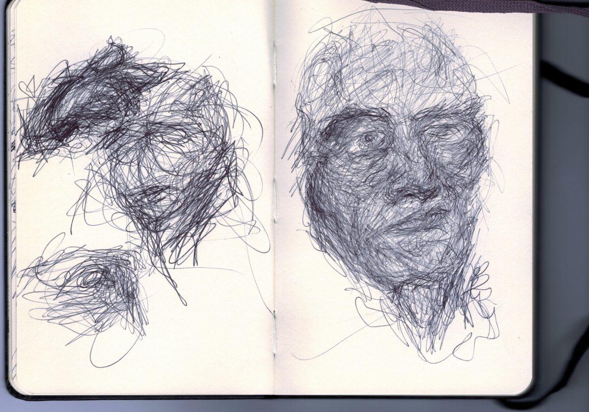 Some recent ballpoint doodles